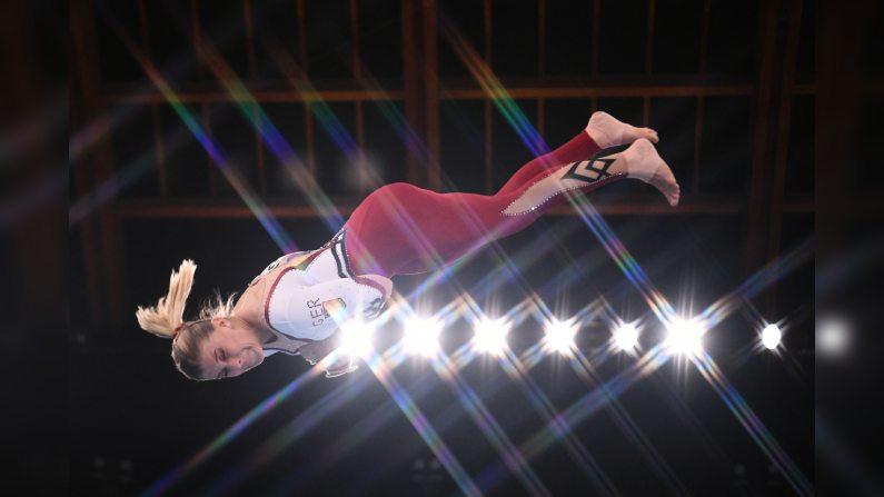 لباس پوشیده تیم ژیمناستیک زنان آلمان/