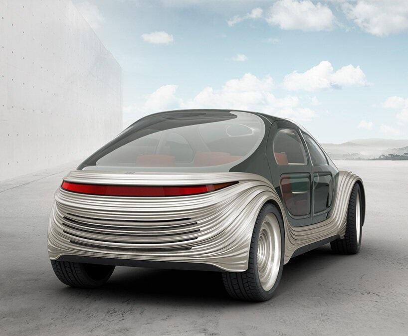 آیرو؛ خودرویی الکتریکی که آلودگی خودروهای دیگر را پالایش میکند