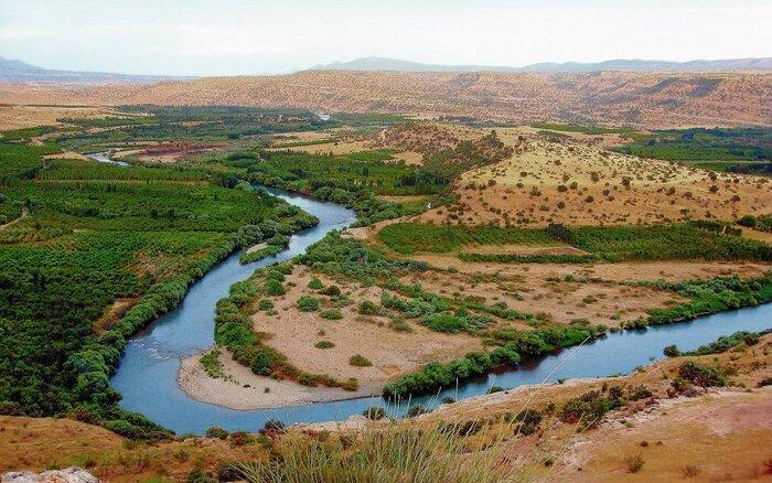 مرگ خاموش رودخانه اترک زیر سایه بی توجهیها