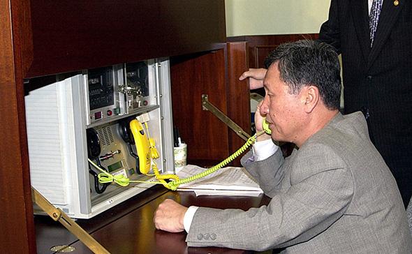 خط ارتباط مستقیم کره جنوبی  سال 2000