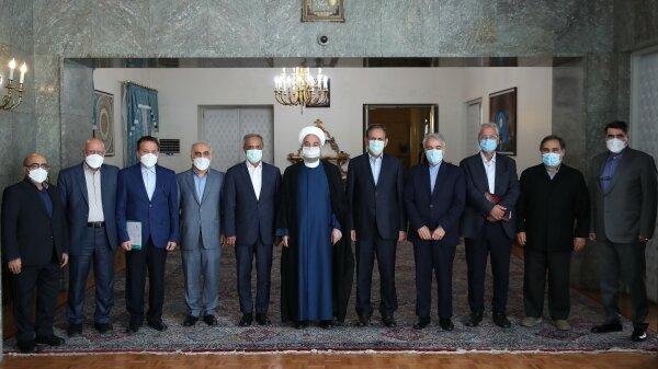 روحانی در آخرین جلسه ستاد هماهنگی اقتصادی دولت: دولت به عهد خود برای تصمیمگیری براساس خرد جمعی پایبند بود