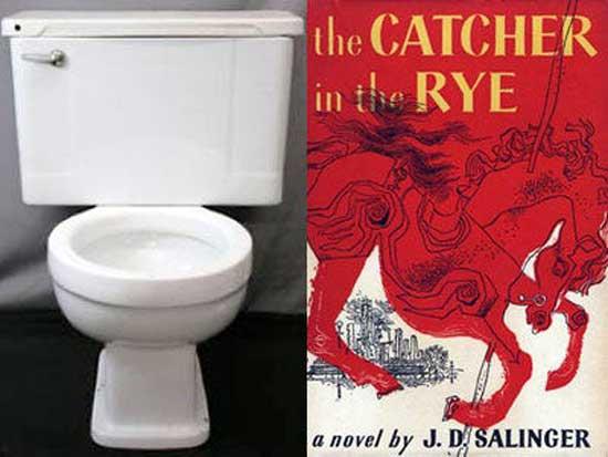 توالت چینی خالق ناطور دشت