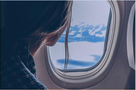 استرس و ناراحتی در هنگام پرواز