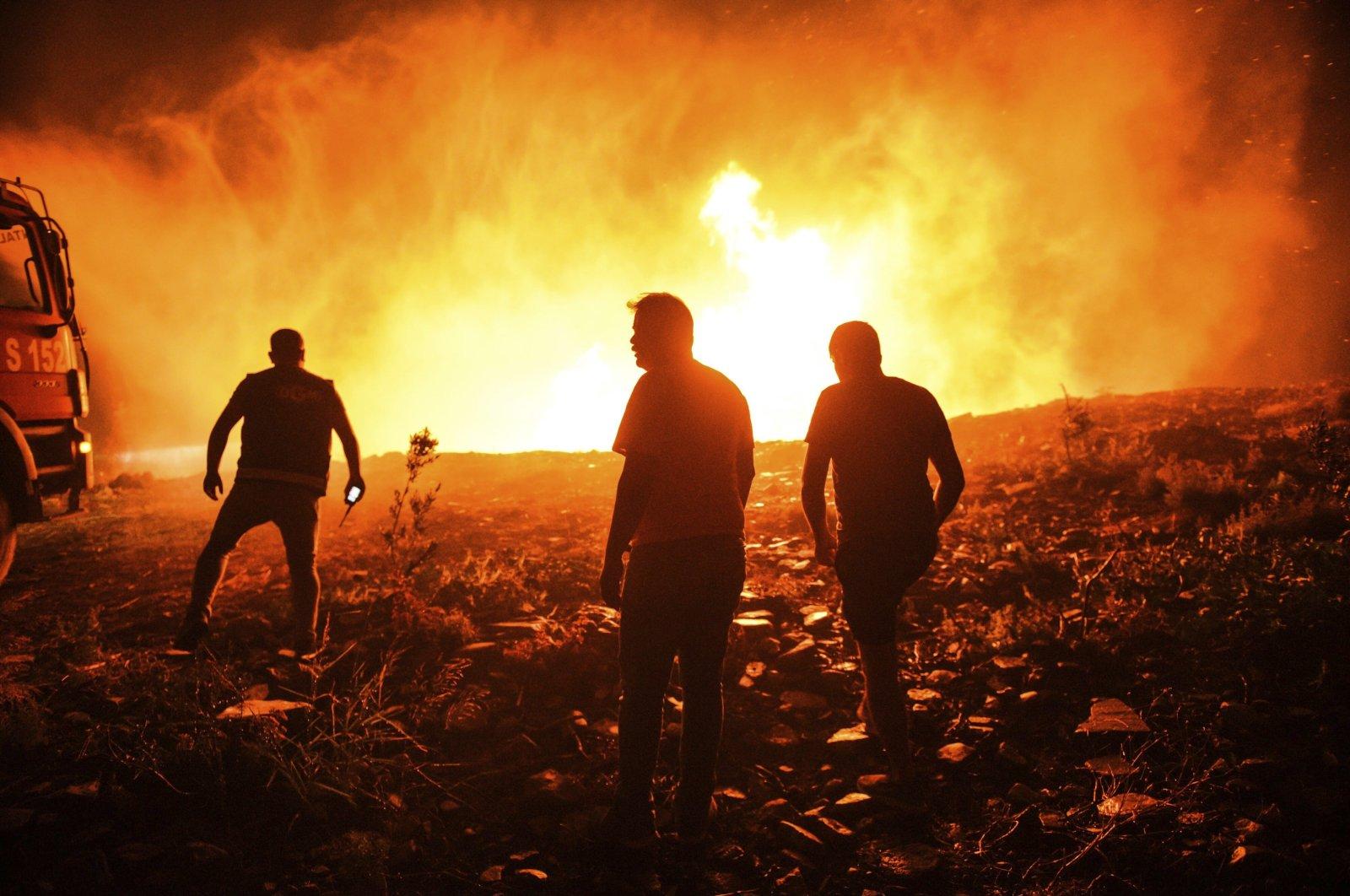 آتش سوزی ترکیه ماناوگات