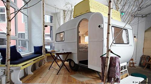 اقامتگاههای عجیب در آلمان (+عکس)