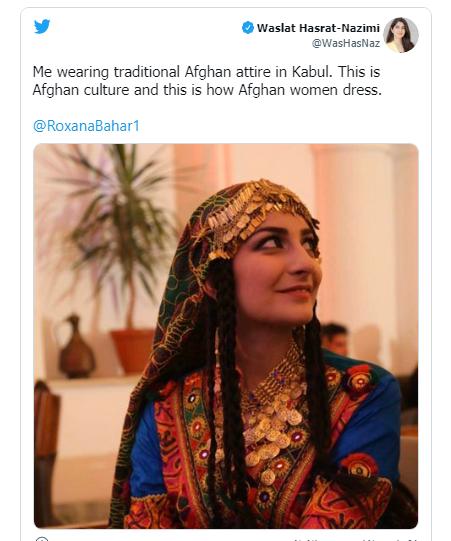 کمپین زنان افغان با لباس های رنگی علیه لباس تحمیلی طالبان