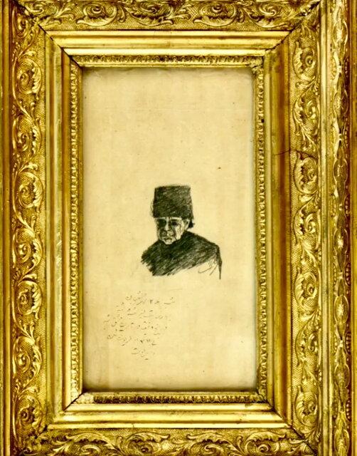 رونمایی از نقاشیهای ناصرالدین شاه (+عکس)
