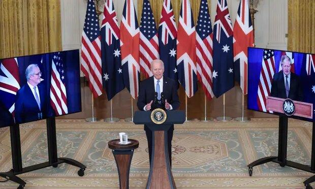 نکته درباره توافق سه جانبه امریکا - بریتانیا - استرالیا