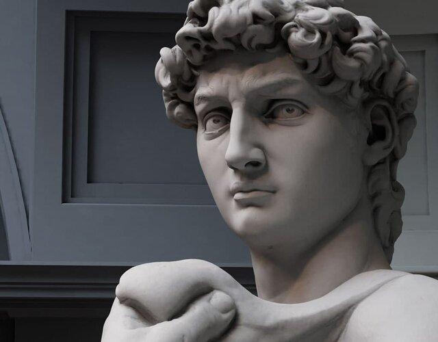 مجسمه داوود؛ نماد قدرت و زیبایی