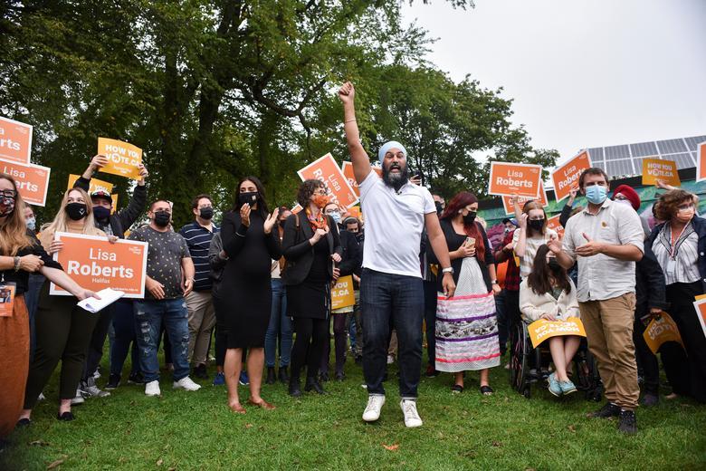 آخرین تلاش مقامات کانادا برای پیروزی در انتخابات فدرال (عکس)