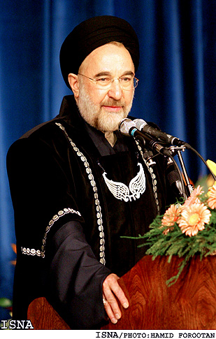 خاتمی دکترای افتخاری دانشگاه تهران