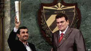 احمدی نژاد دکترای افتخاری کوبا