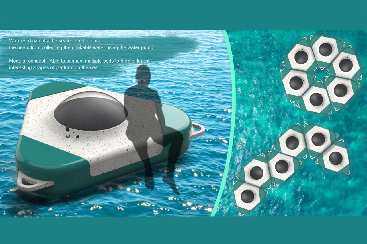واترپاد؛ گزینه ای پایدار برای تبدیل آب دریا به آب آشامیدنی