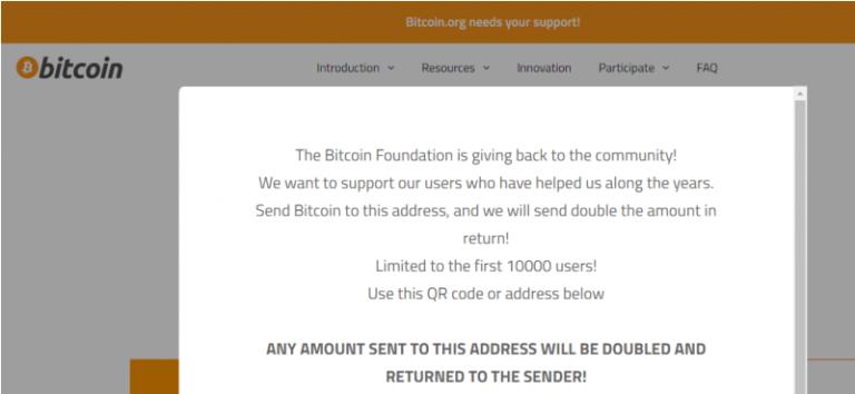وبسایت Bitcoin.org هک شد