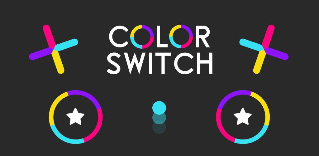 دانلود بازی پرطرفدار تغییر رنگ - Color Switch