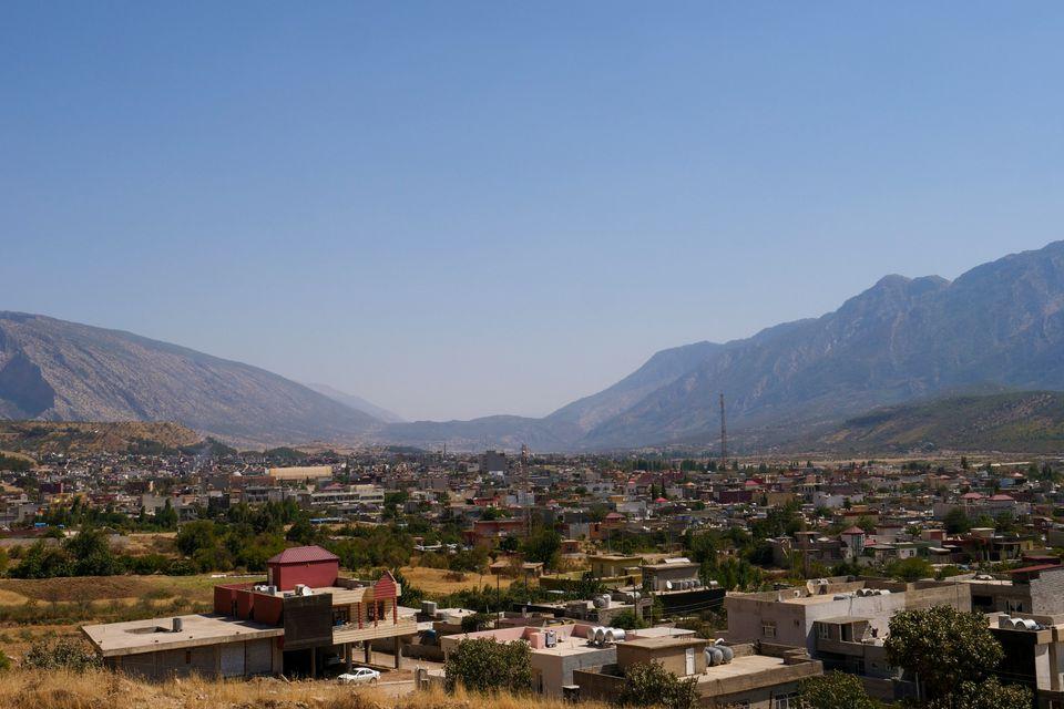 شهر شیلادزه کردستان عراق