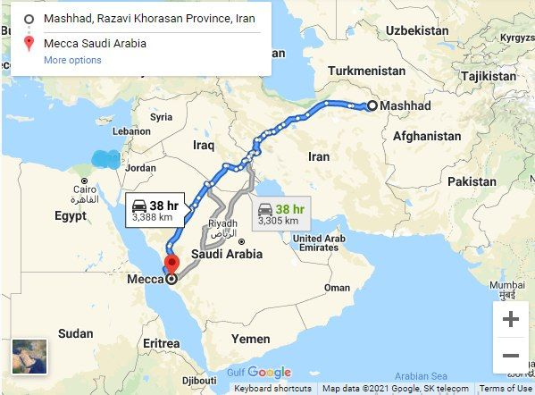پیشنهاد ساخت اتوبان مشهد - مکه در مذاکرات ایران و سعودی