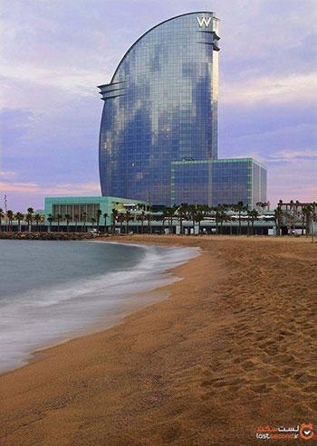 هتل دابلیو بارسلونا (W Barcelona Hotel)، اسپانیا