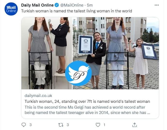 قدبلندترین زن دنیا (+عکس)