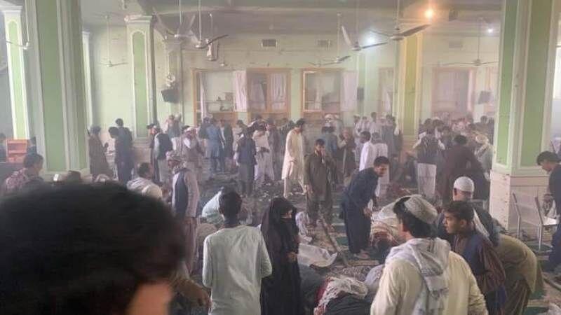 داعش مسئولیت حمله به مسجد فاطمیه قندهار را برعهده گرفت