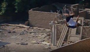 حرکات تماشایی پارکور در کشور مصر (فیلم)