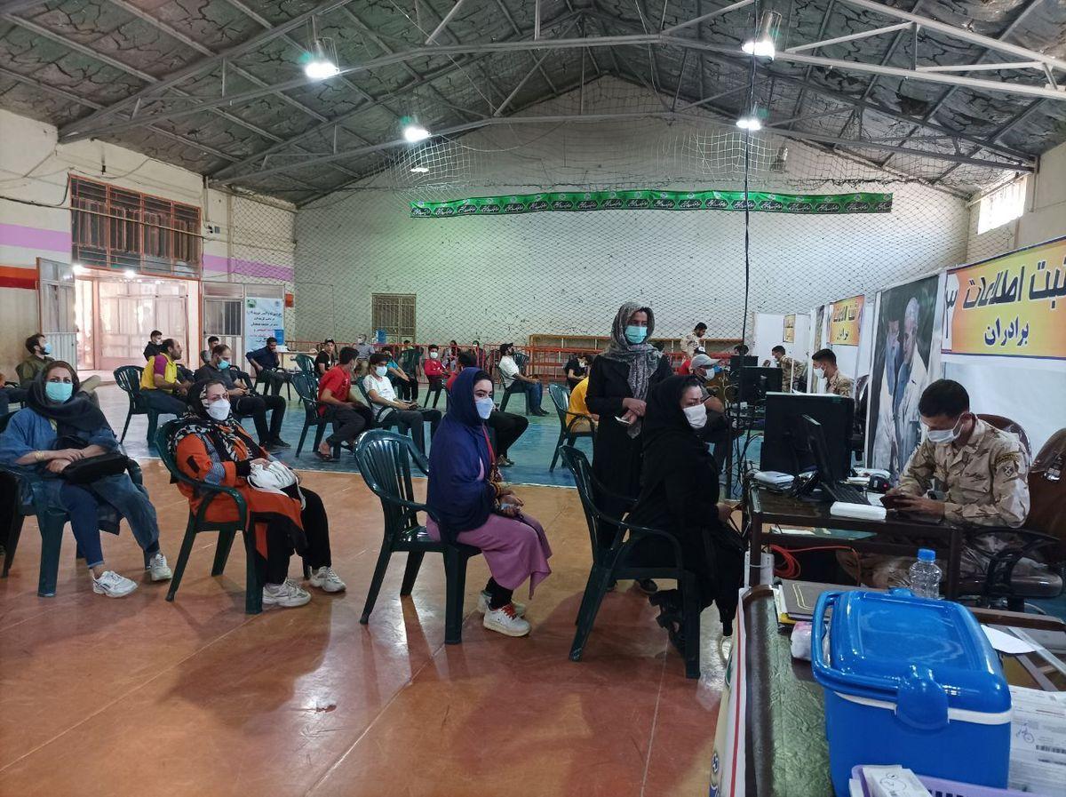 عدم استقبال 30 درصد مردم استان گلستان از واکسن کرونا