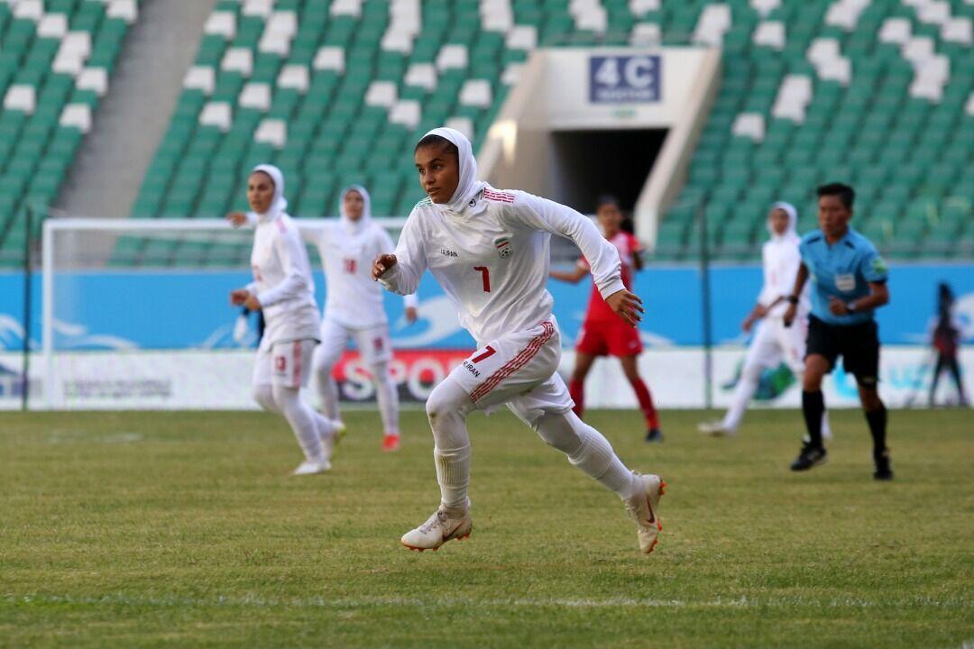 ایران به جام ملتها صعود کرد/ تاریخسازی زنان فوتبالیست ایران