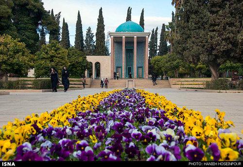 آرامگاه سعدی در شیراز