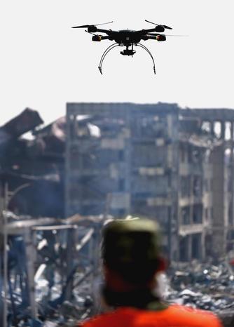 ادامه عملیات جستجو در محل انفجار مهیب در شهر تیانجین چین