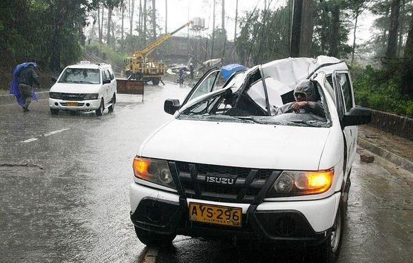 خسارات توفان در شمال فیلیپین