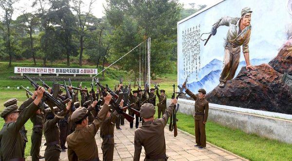 ثبت نام نیروهای داوطلب در ارتش کره شمالی همزمان با تشدید تنش با کره جنوبی