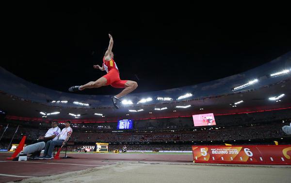 مسابقات جهانی دو و میدانی در پکن