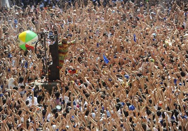 آغاز یک جشنواره خیابانی تابستانه در شهر تارازونا اسپانیا