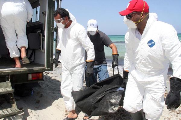 کشف اجساد مهاجران غیر قانونی در سواحل لیبی