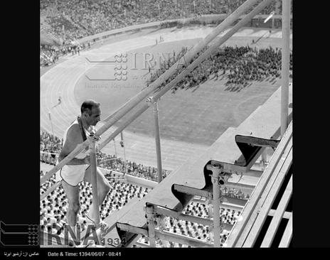 10 شهریور 1353-مشعل بازی های آسیایی در مراسم افتتاح هفتمین دوره آن، در استادیوم آریامهر تهران( آزادی کنونی ) روشن می شود
