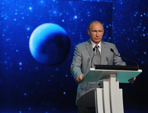 سخنرانی رییس جمهور روسیه در جمع دانش آموزان و دانشجویان روسی در روز دانش – شهر سوچی