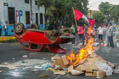 اعتراضات در پرو علیه عملیات اکتشاف یک میدان نفتی روی زمین های بومیان