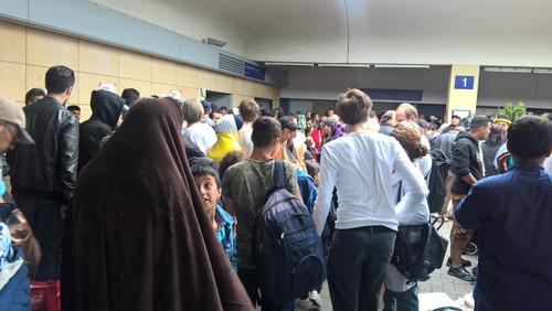 ورود مهاجران خارجی به آلمان