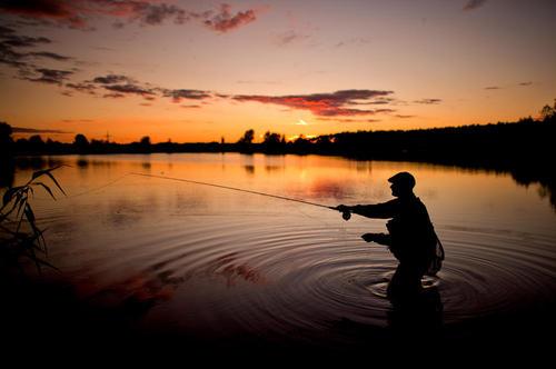 ماهیگیری از دریاچه- آلمان