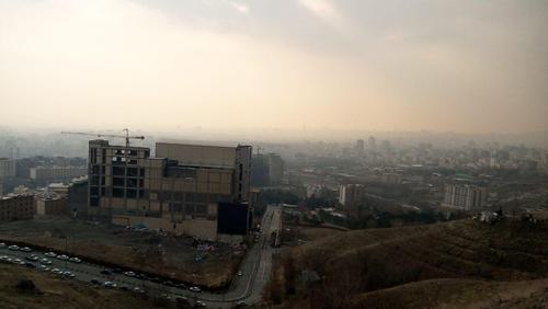 تهران آلوده