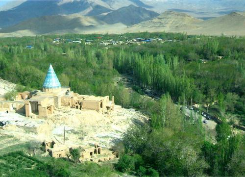 روستای مرق-آرامگاه باباافضل (عارف و شاعر)- کاشان - رضا یوسفی