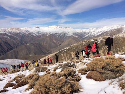 قله برف ريز نيشابور - محمد طالبى