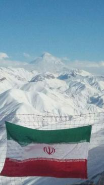 ارتفاعات پیست اسکی دیزین- تهران- یاسین