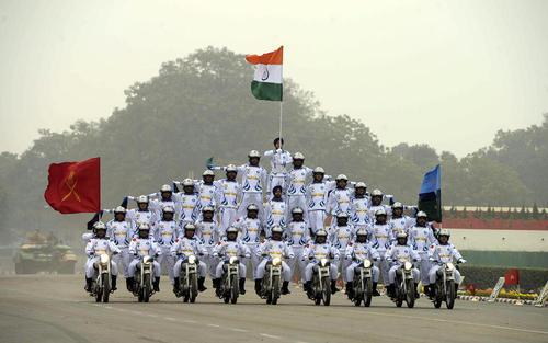 رژه سالانه روز ارتش در شهر دهلی نو هند