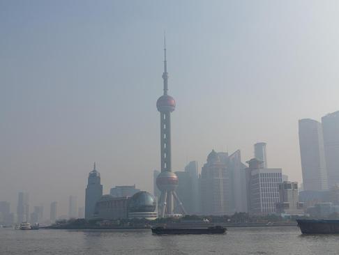 آلودگی هوای شهر شانگهای به سطح بی سابقه ای رسید