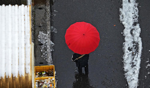 هوای برفی توکیو