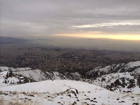 دی ماه 94- ارتفاعات تهران- رضا ابطحی