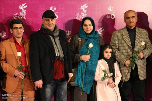 بازیگران سینما در افتتاحیه جشنواره فیلم فجر (عکس)