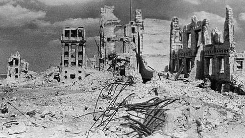 استالینگراد در سال 1943- بعد از جنگ جهانی دوم