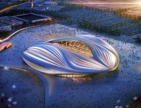 ورزشگاه Al Wakrah برای جام جهانی 2022 - دوحه قطر